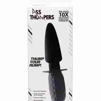 Ass Thumpers The Plug 10x Silicone Vibrating Thruster