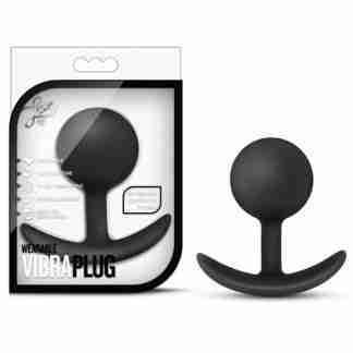 Blush Luxe Wearable Vibra Plug - Black