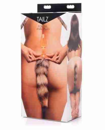Tailz Fox Tail Glass Anal Plug