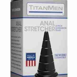 "Titanmen 6"" Anal Stretcher - Black"