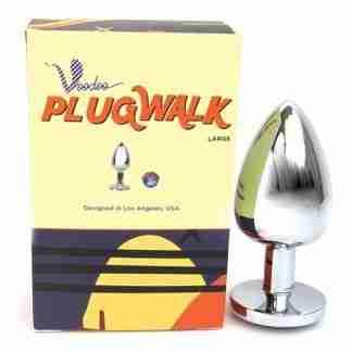 Voodoo Walk Large Metal Plug - Silver