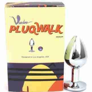 Voodoo Walk Medium Metal Plug - Silver