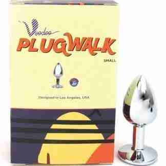 Voodoo Walk Small Metal Plug - Silver