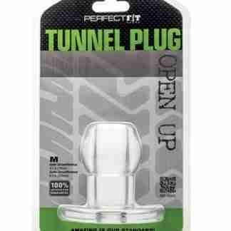 Perfect Fit Tunnel Plug Medium - Clear