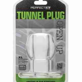 Perfect Fit Tunnel Plug XLarge - Clear