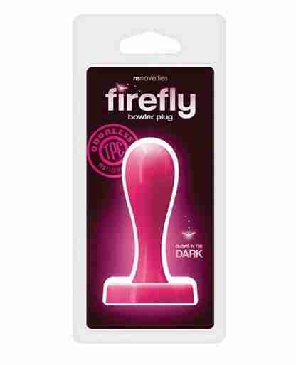 Firefly Bowler Medium Plug - Pink