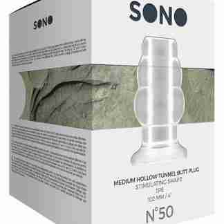 Shots Sono Butt Plug - Medium Clear