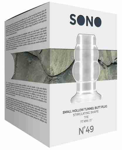 Shots Sono Butt Plug - Small Clear