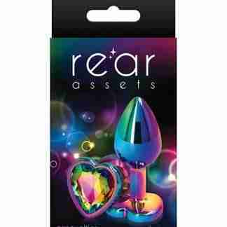 Rear Assets Mulitcolor Heart Small - Rainbow