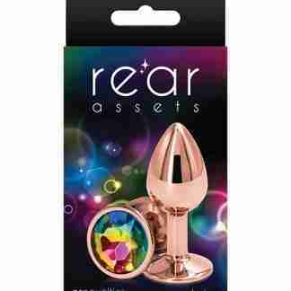 Rear Assets Rose Gold Small - Rainbow
