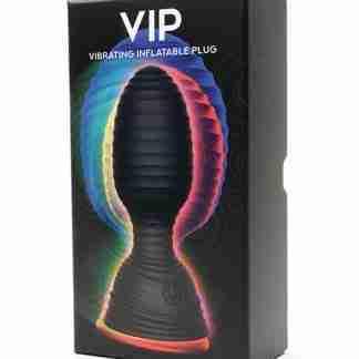 665 VIP Inflatable Vibrating Plug