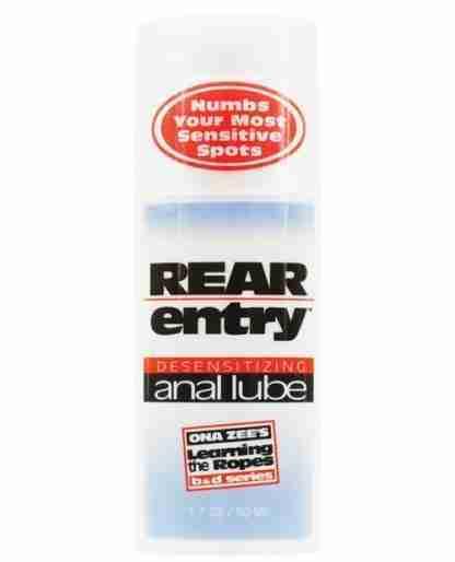Rear Entry Desensitizing Anal Lube - 1.7 oz