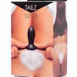 Tailz Bunny Tail Anal Plug - White