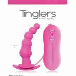 Tinglers Vibrating Butt Plug #1 - Pink
